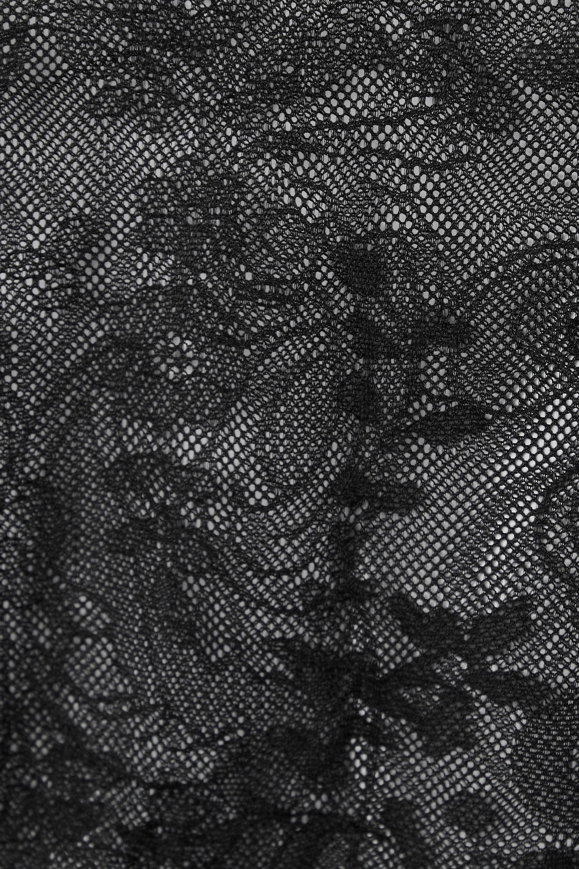Acne Studios Body à col roulé en dentelle stretch