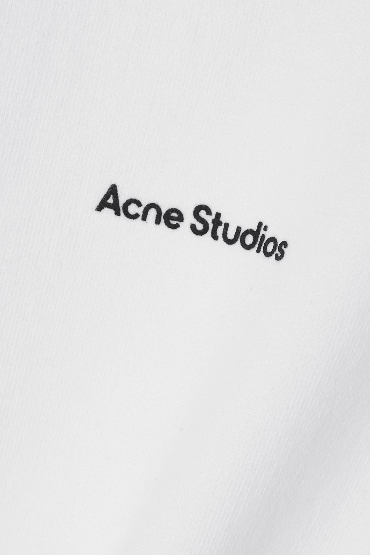 Acne Studios + NET SUSTAIN printed organic cotton-jersey sweatshirt