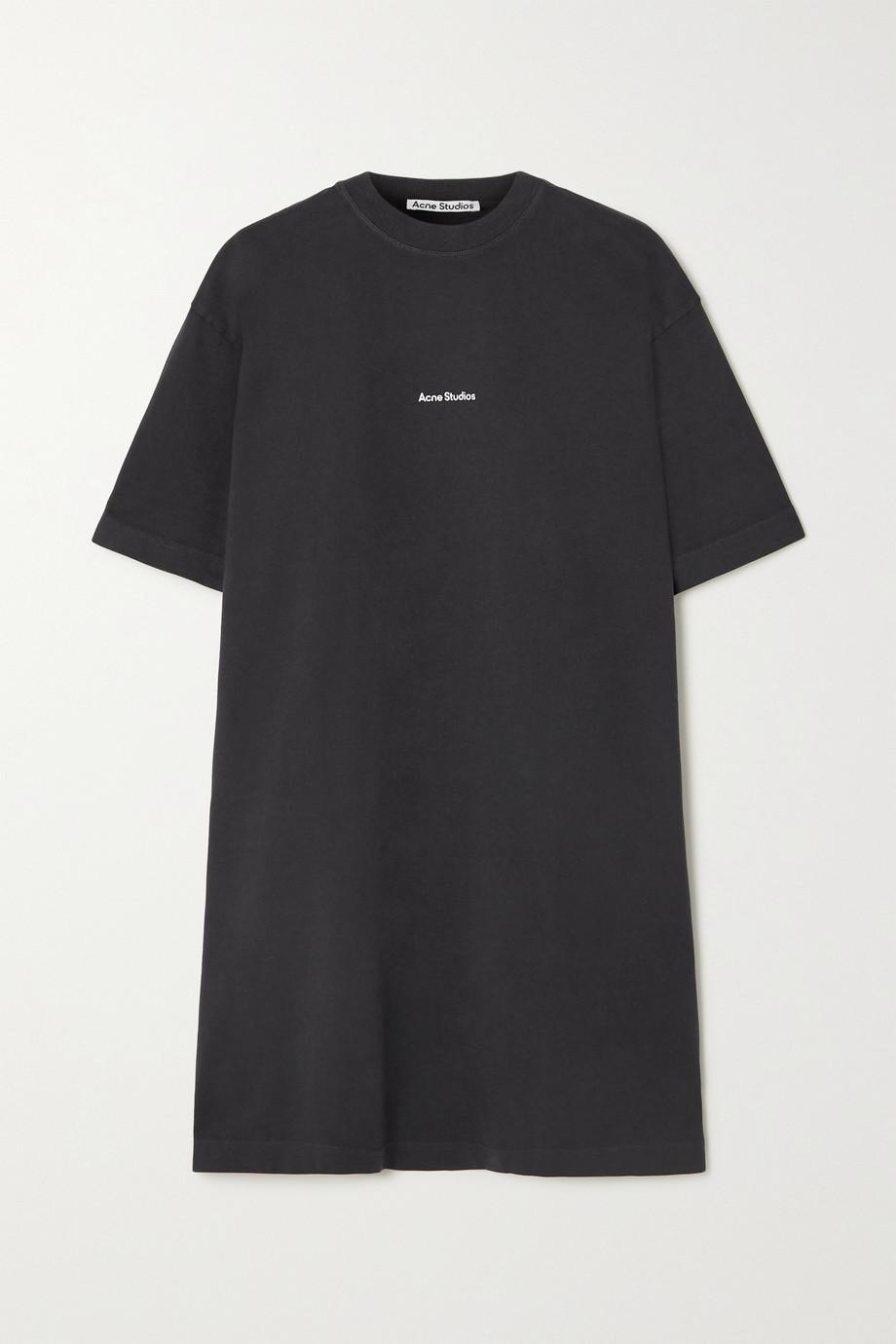 Acne Studios Mini-robe en jersey de coton biologique imprimé - NET SUSTAIN
