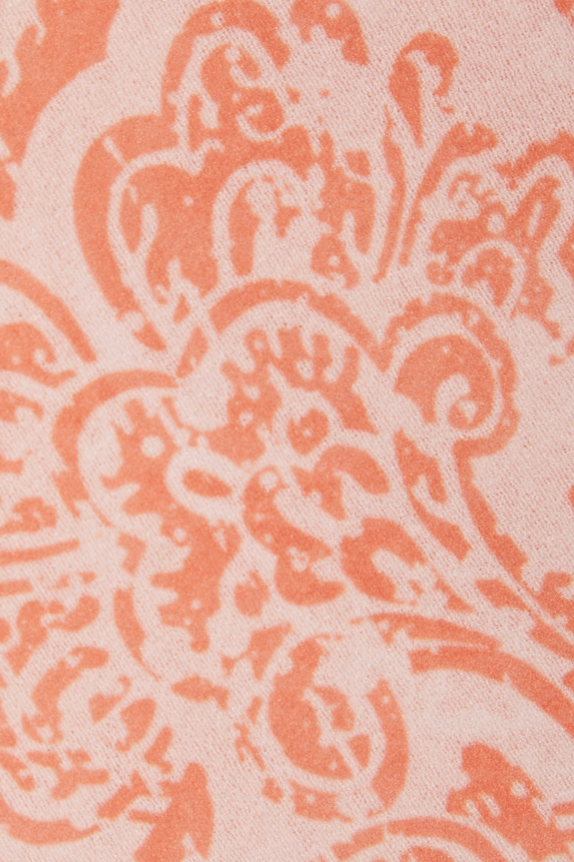 Acne Studios Paisley-print stretch-crepe turtleneck top