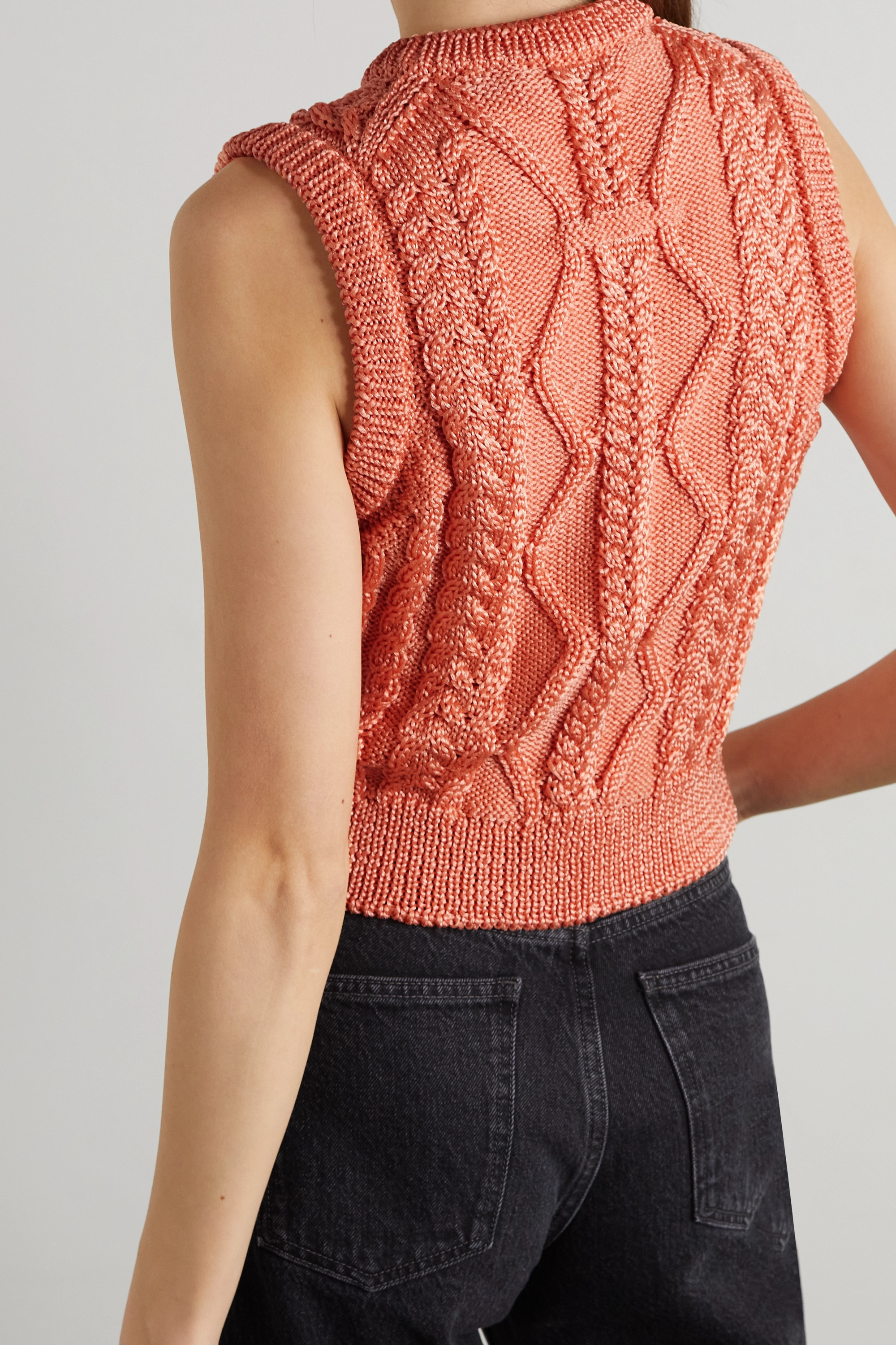 Acne Studios Cable-knit tank