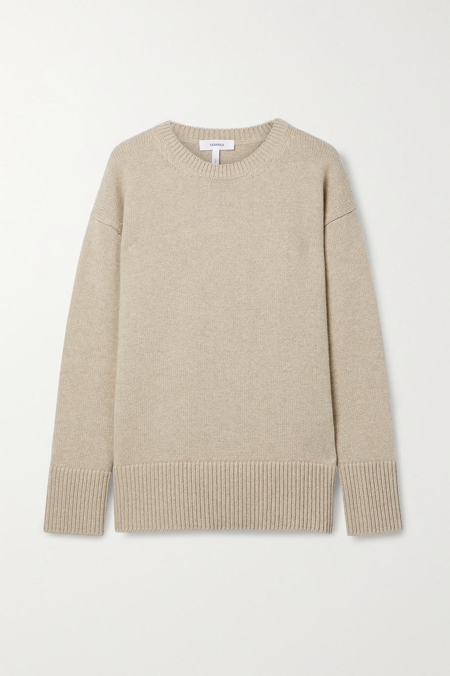 CASASOLA + NET SUSTAIN Guga cashmere sweater