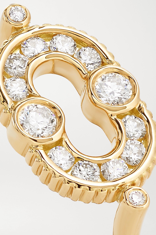 Viltier Bague en or 18 carats et diamants Magnetic - NET SUSTAIN