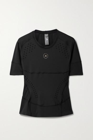 Adidas By Stella Mccartney T-shirts TRUEPURPOSE PERFORATED STRETCH RECYCLED T-SHIRT