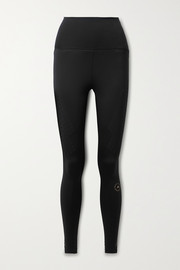 adidas by Stella McCartney TruePurpose perforated stretch recycled leggings
