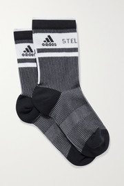 adidas by Stella McCartney Stretch-jacquard socks