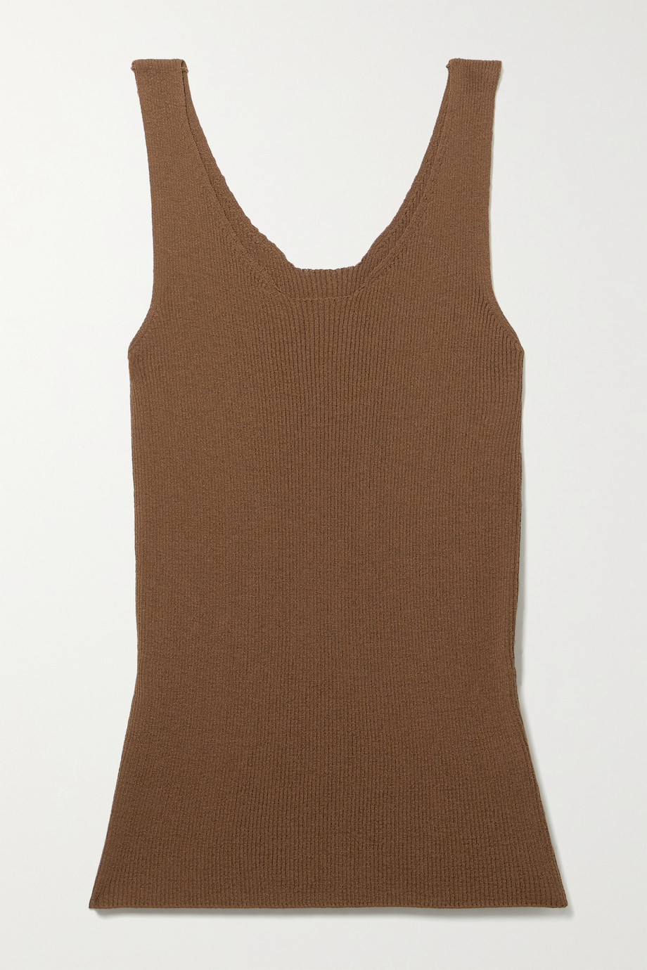 LVIR Ribbed-knit tank