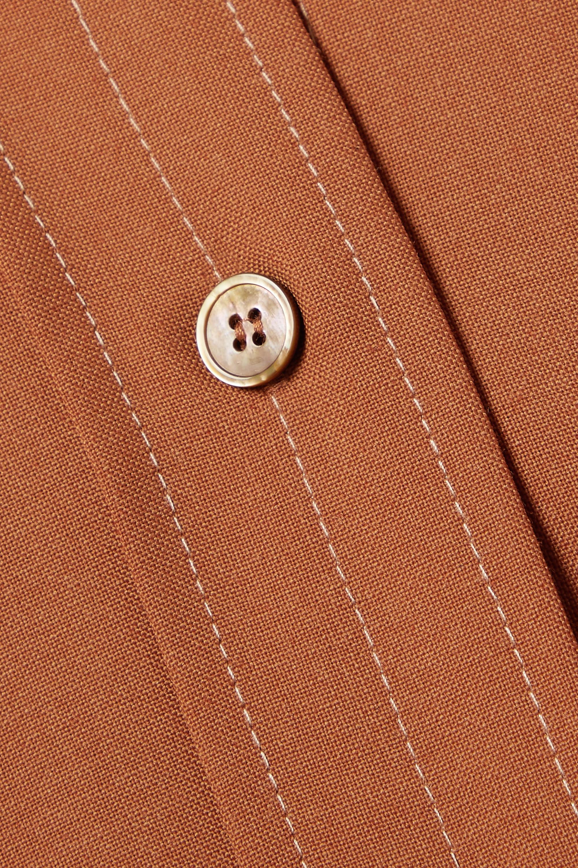 LVIR Wool-blend shirt