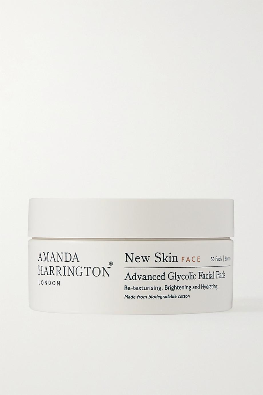 Amanda Harrington New Skin Advanced Glycolic Facial Pads – 30 Reinigungspads