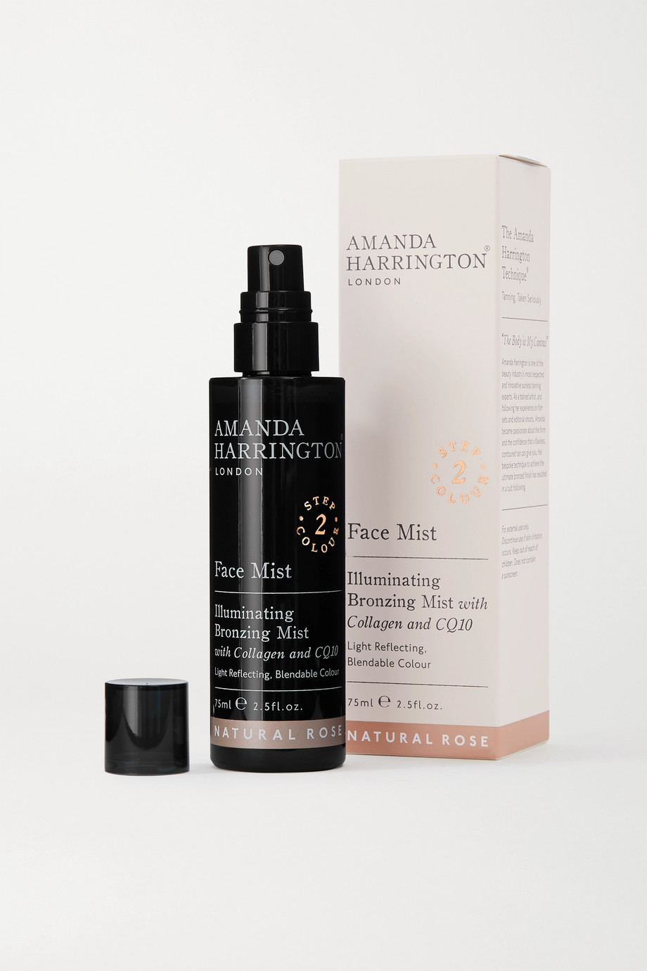 Amanda Harrington Face Mist - Natural Rose, 75ml