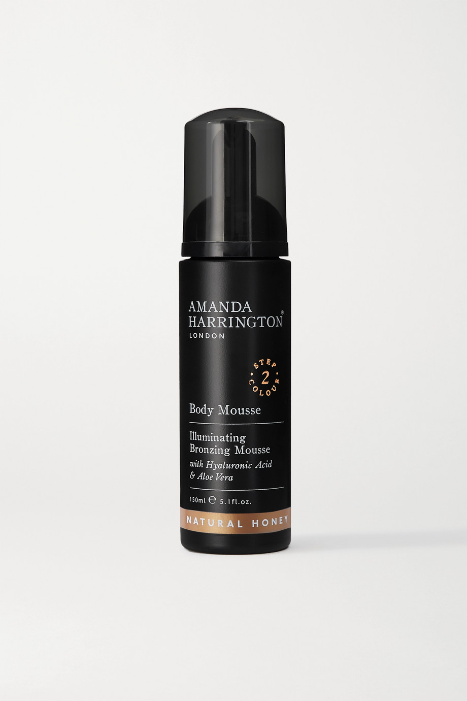 Amanda Harrington Mousse bronzante pour le corps, Natural Honey, 150 ml