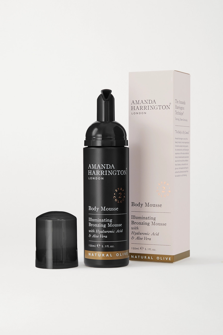 Amanda Harrington Body Mousse - Natural Olive, 150ml