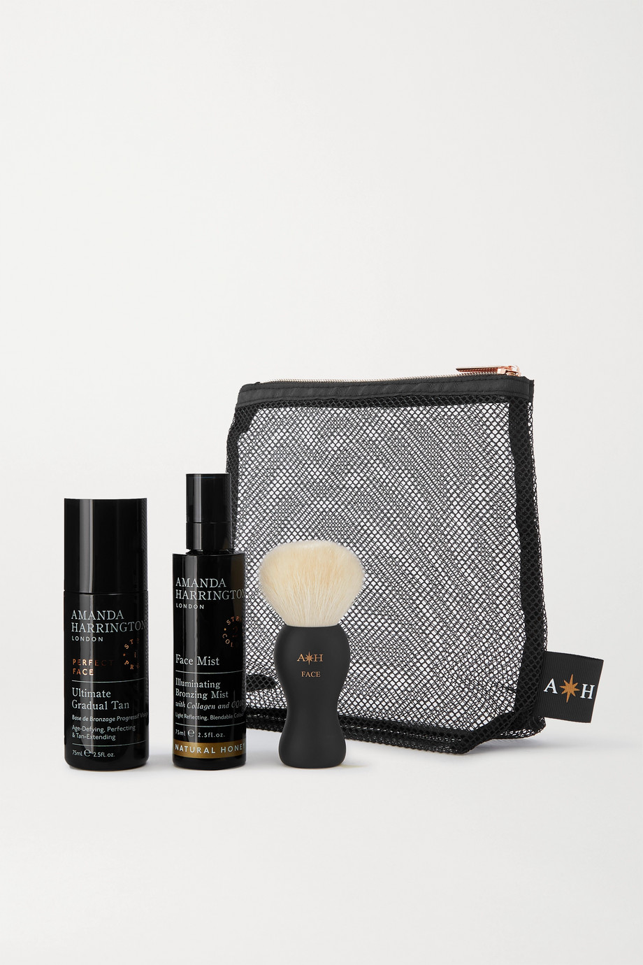 Amanda Harrington Buff & Bronze Face Set - Natural Honey
