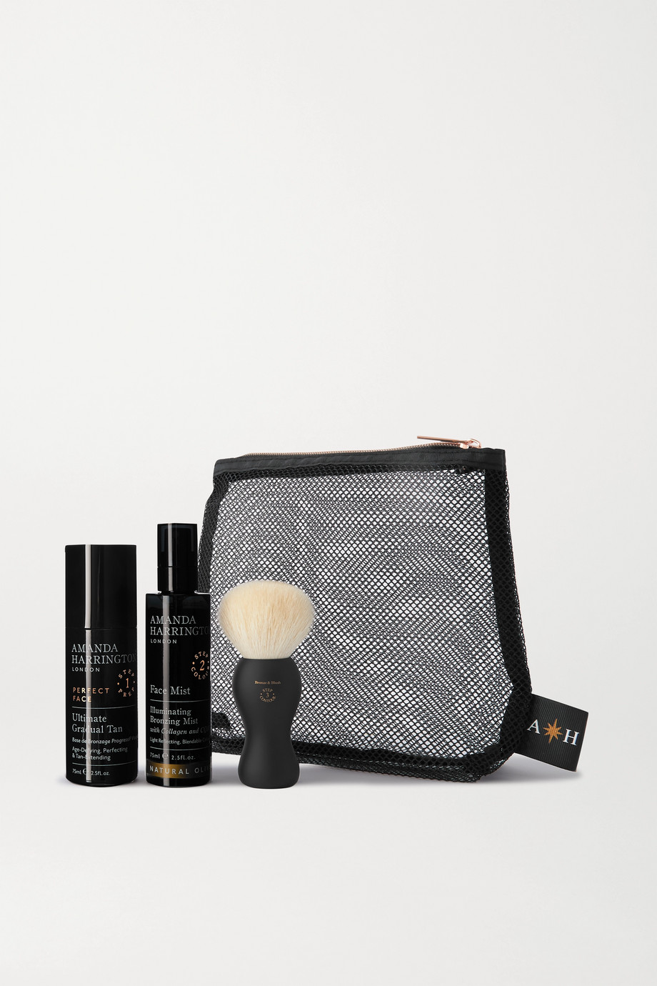 Amanda Harrington Buff & Bronze Face Set - Natural Olive