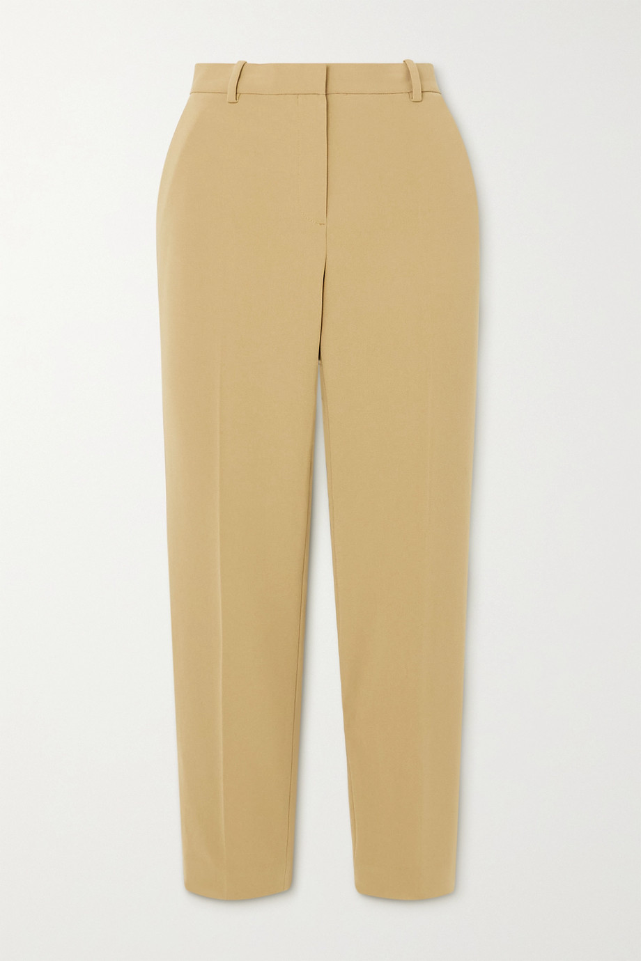 Theory Cropped crepe straight-leg pants