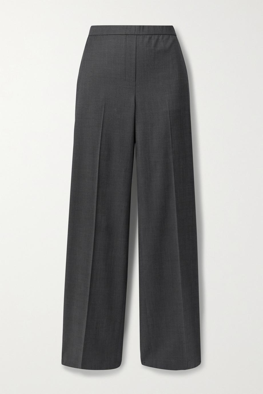 Theory Wool wide-leg pants