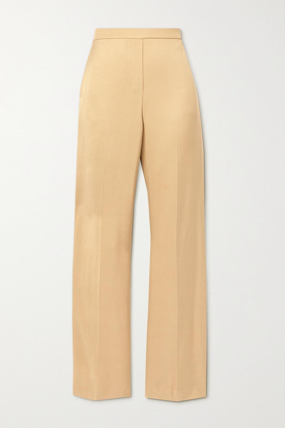 Theory Twill wide-leg pants