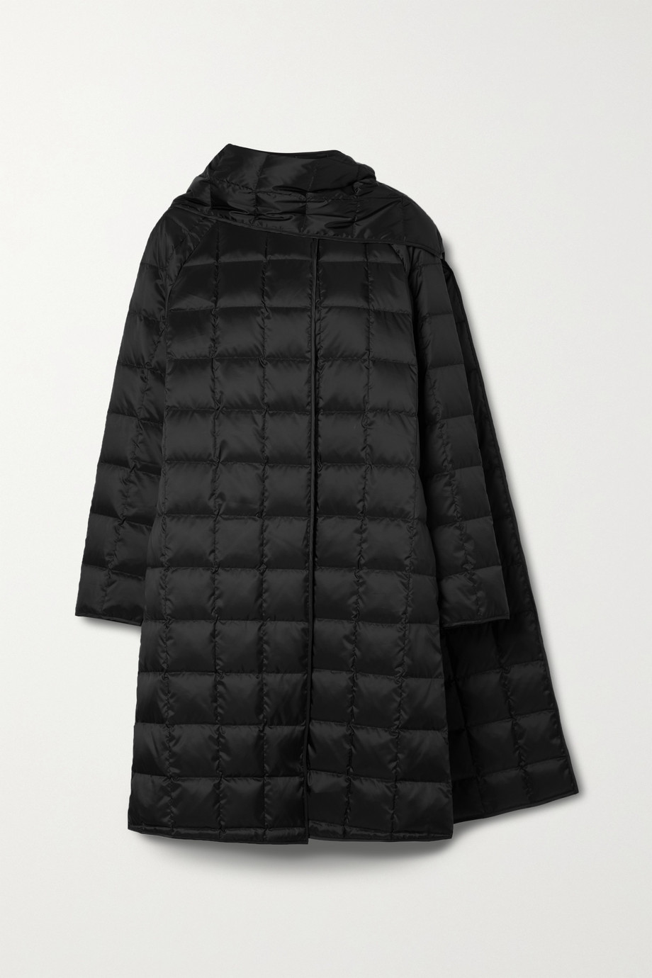 Theory Quilted shell down coat