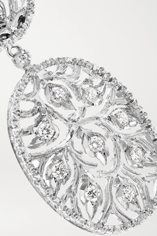 White Gold 18-karat Diamond Earrings   Buccellati