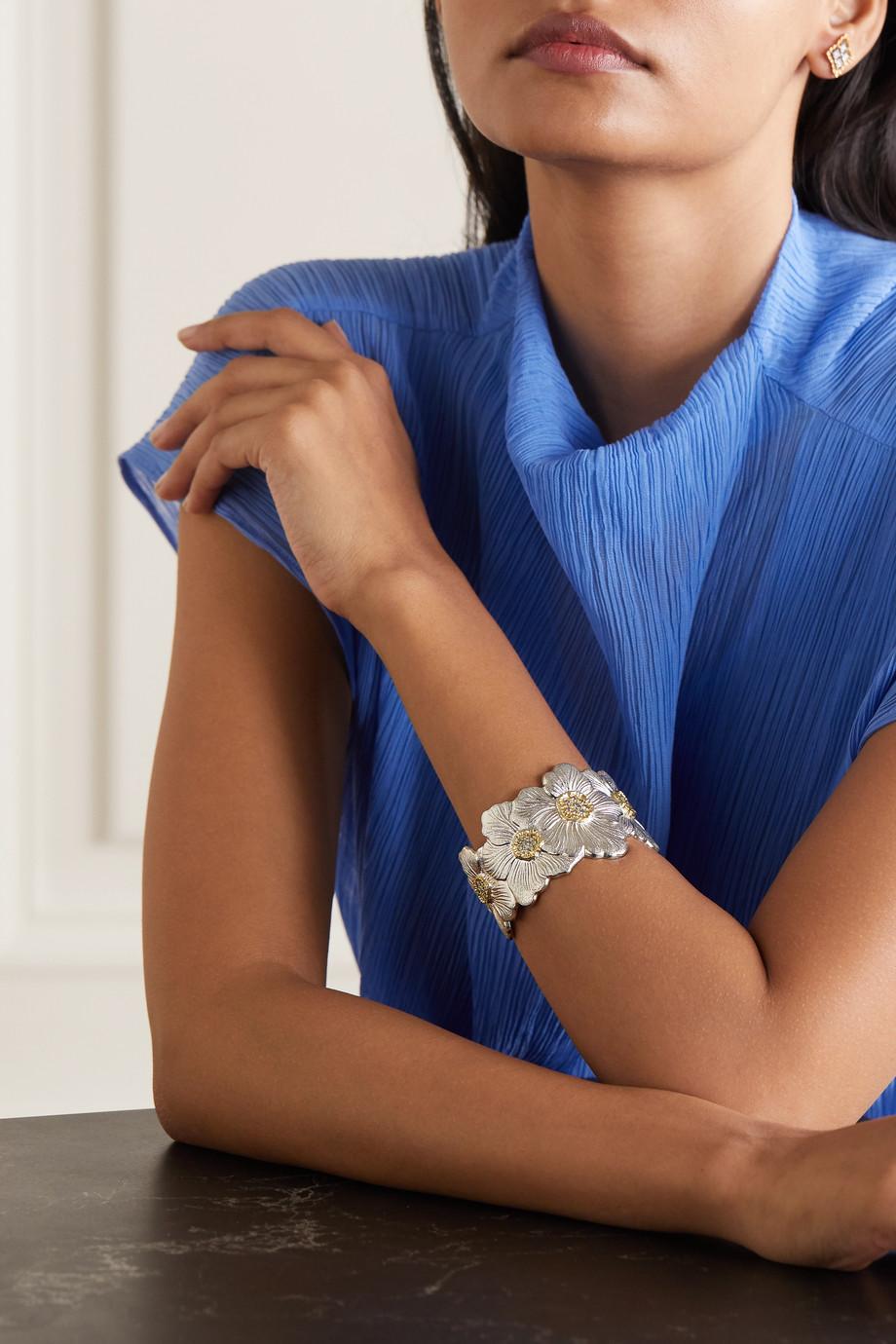 Buccellati Bracelet en argent sterling, vermeil et diamants