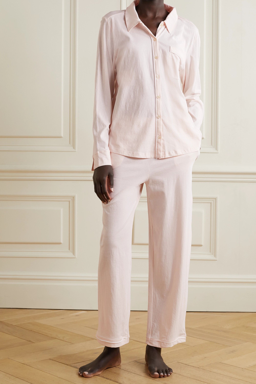 Skin + NET SUSTAIN Cecilia Pyjama aus Bio-Pima-Baumwoll-Jersey
