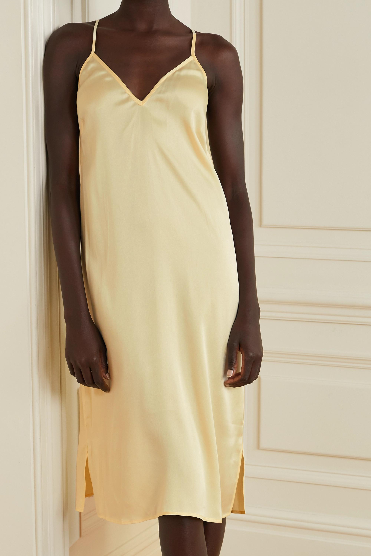 Skin Tess stretch-silk satin chemise