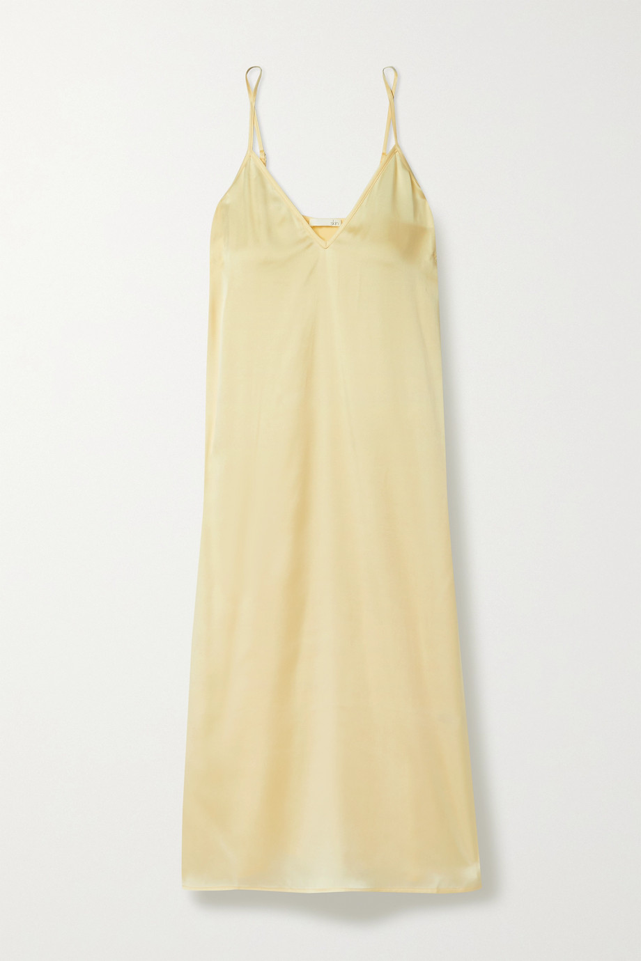 Skin Tess stretch-silk satin chemise