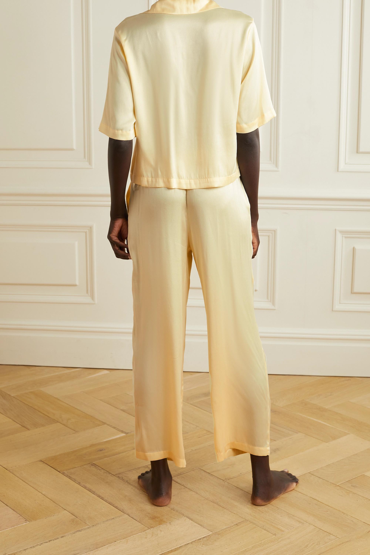 Skin Tay Pyjama aus Stretch-Seidensatin