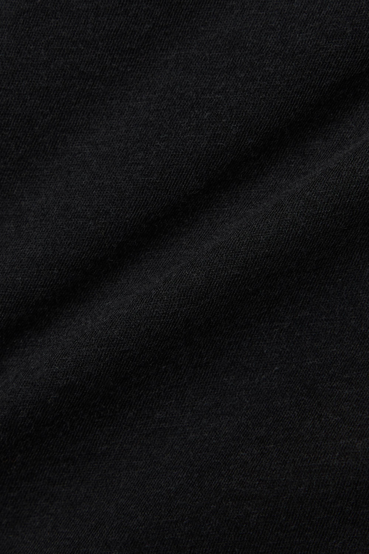 Skin + NET SUSTAIN Myra Top aus Bio-Pima-Baumwoll-Jersey mit Spitzenbesatz