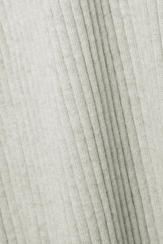 Skin Maddie Jogginghose aus einer gerippten Baumwoll-Kaschmirmischung