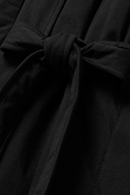 Skin Stormie Morgenmantel aus gestepptem Baumwoll-Jersey