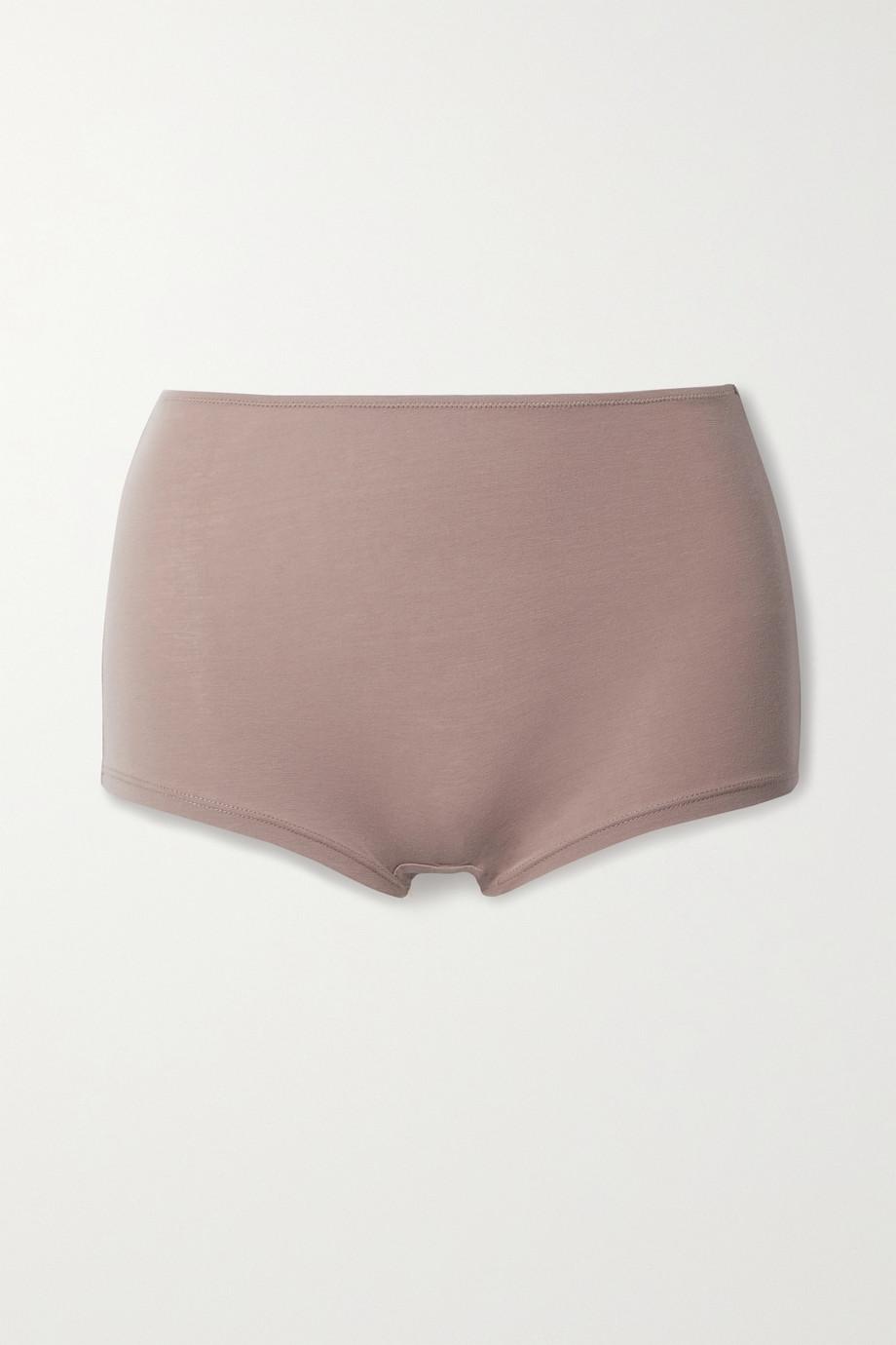 Skin 【NET SUSTAIN】Gayle 弹力有机比马棉质平纹布三角裤