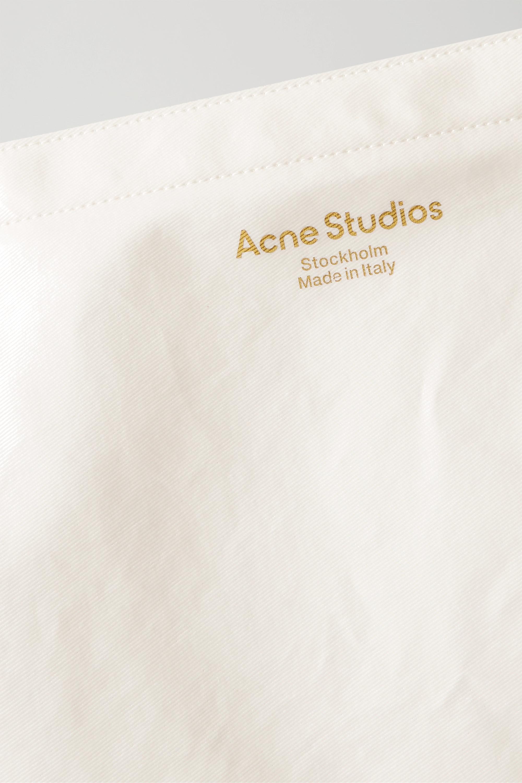 Acne Studios Sac à main en coton mélangé imprimé et enduit