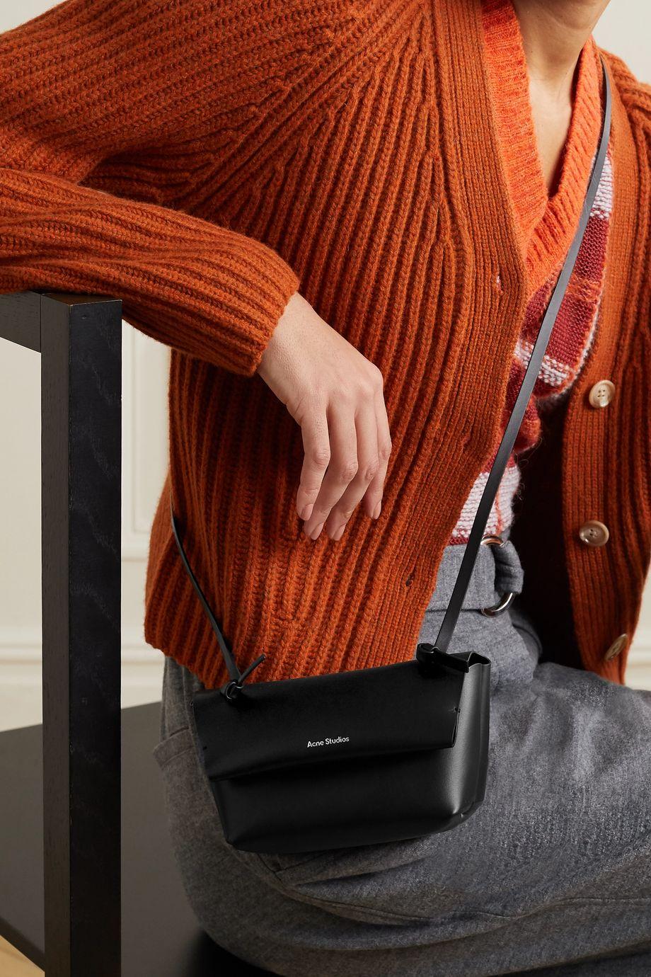 Acne Studios Schultertasche aus Leder