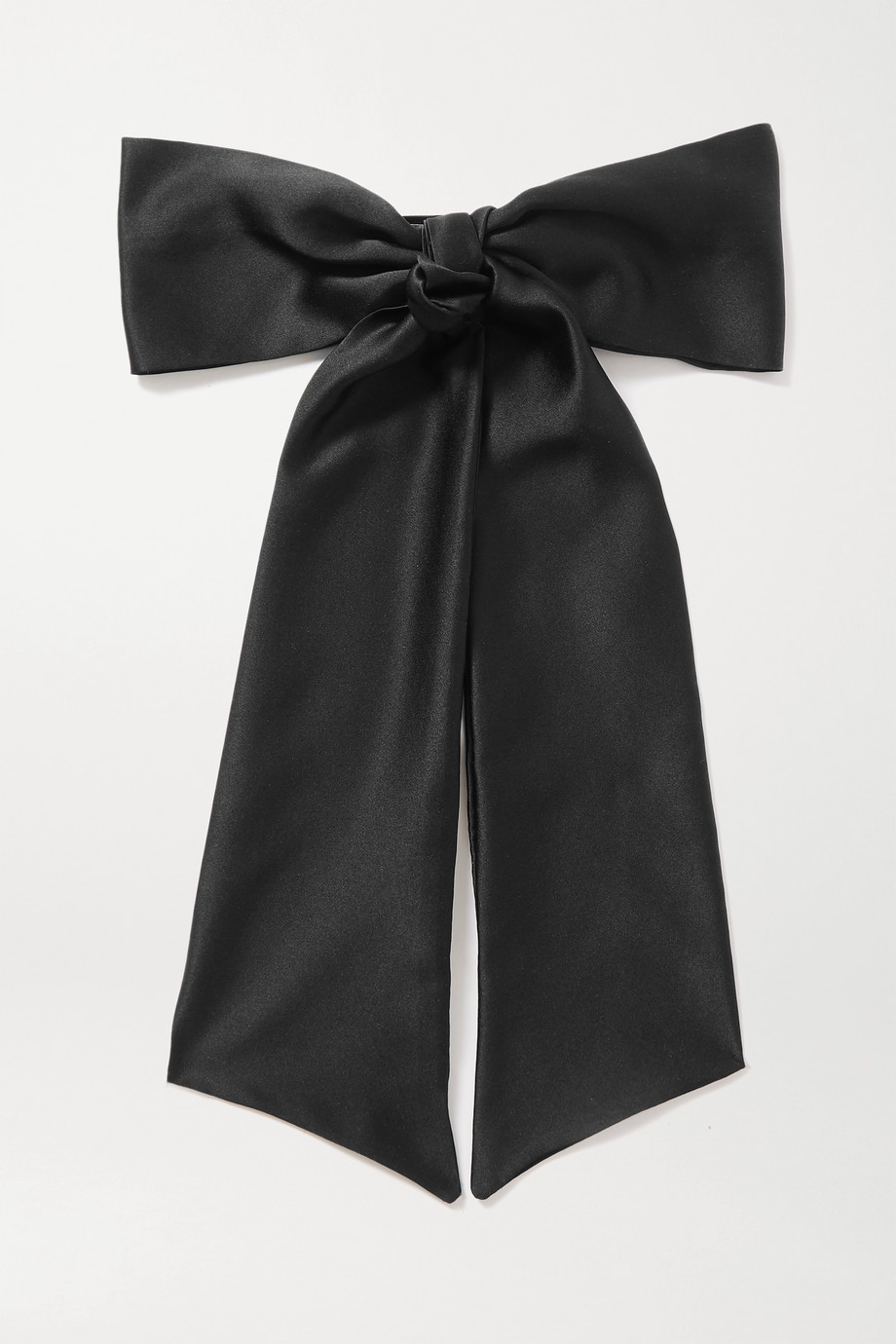 Sophie Buhai Oversized silk-satin hair clip