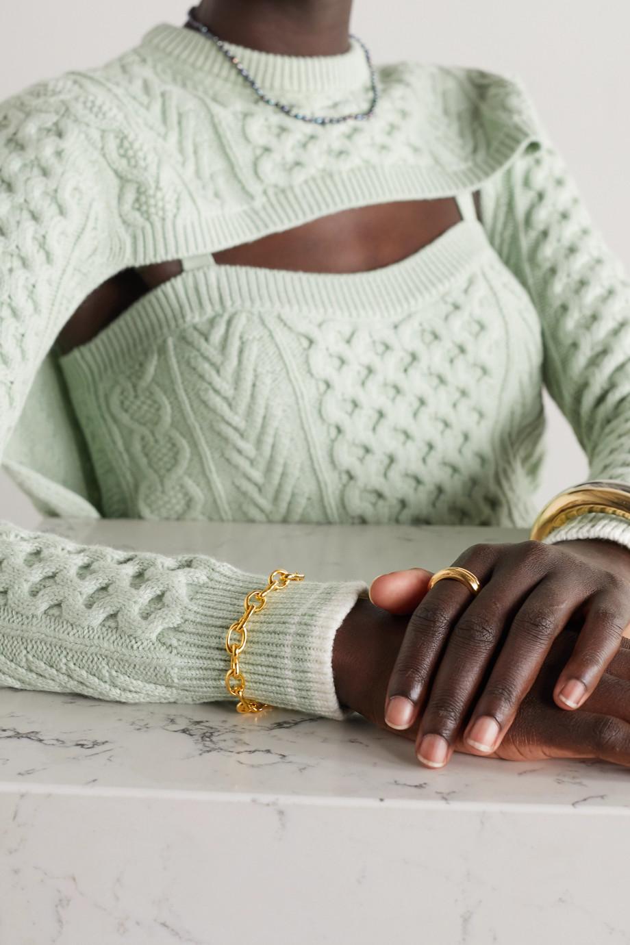 Sophie Buhai Roman gold vermeil bracelet