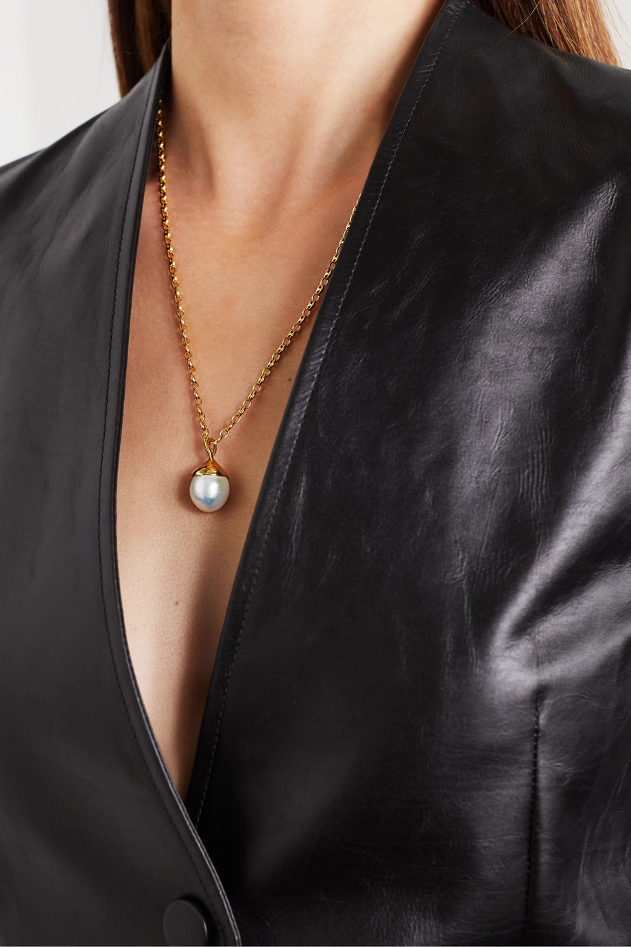 Sophie Buhai Gold vermeil pearl necklace