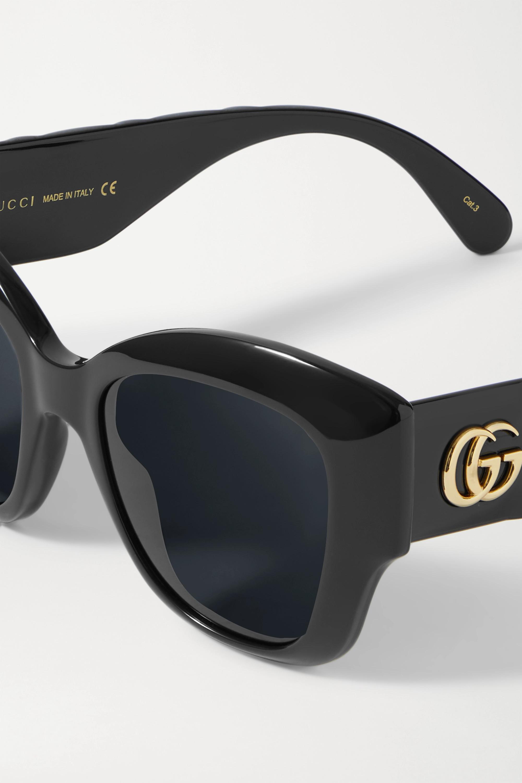 Gucci Lunettes de soleil œil-de-chat en acétate