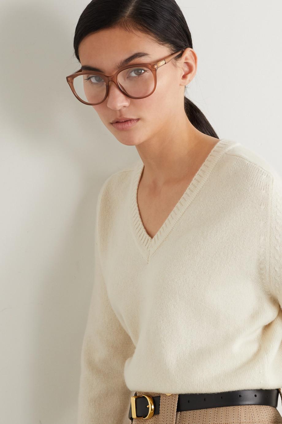 Gucci Round-frame acetate optical glasses