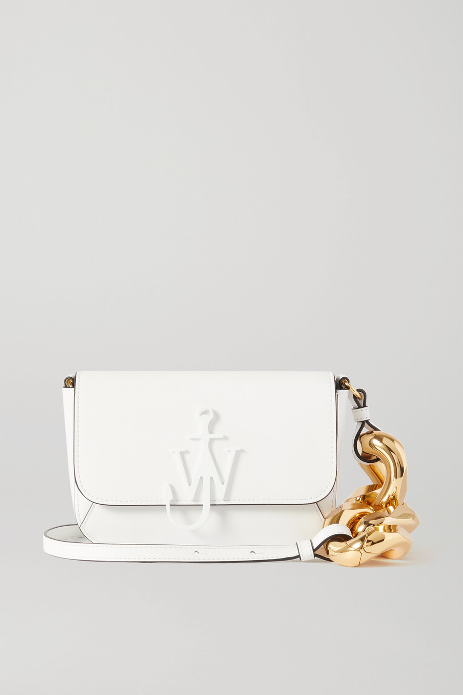 JW Anderson Chain Midi Anchor leather shoulder bag