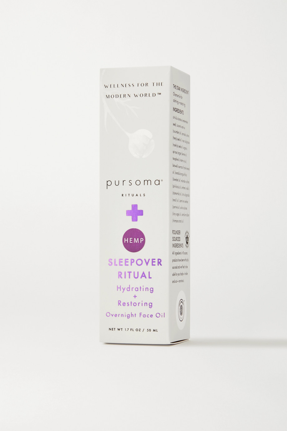 Pursoma Sleepover Ritual Overnight Face Oil, 50ml