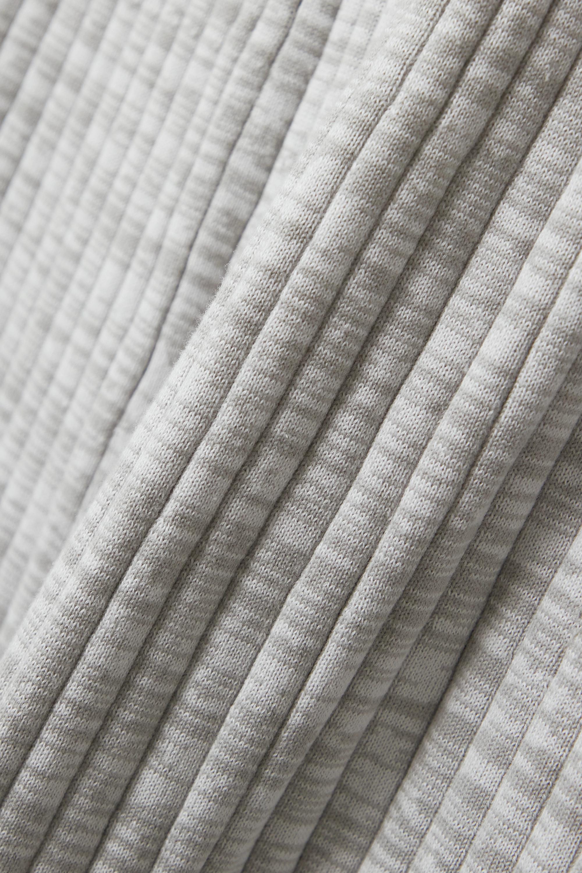ANNA QUAN Selma ribbed cotton maxi skirt