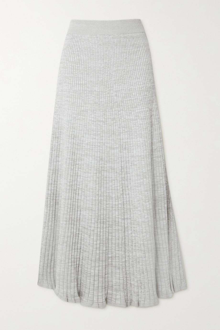 ANNA QUAN Selma ribbed cotton maxi skirt
