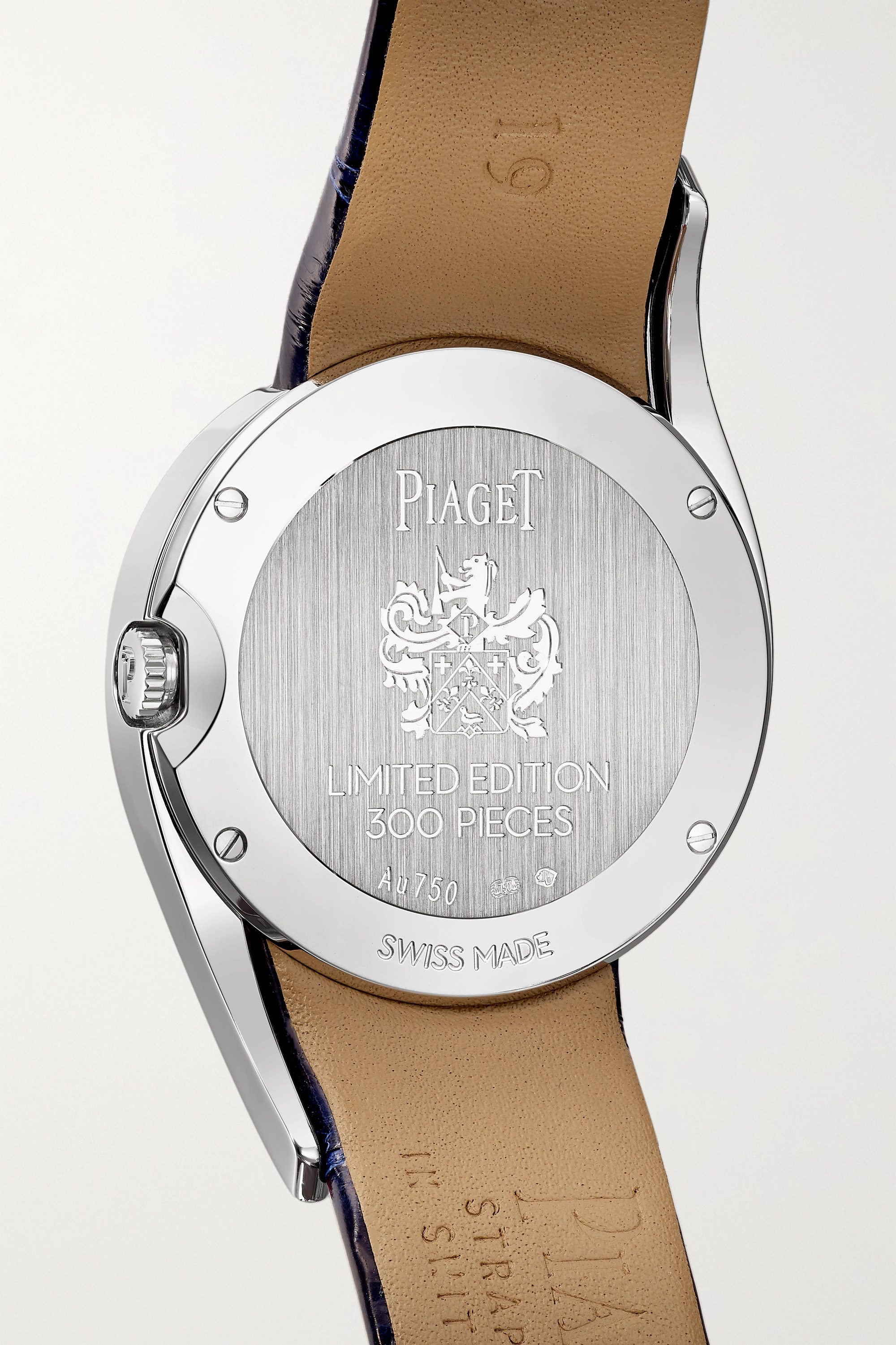 Piaget Limelight Gala Limited Edition 32mm 18-karat white gold, alligator and diamond watch