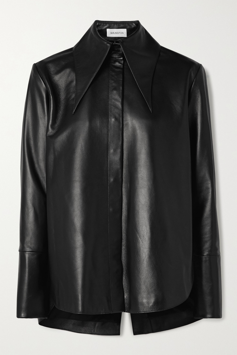 16ARLINGTON Seymour leather shirt