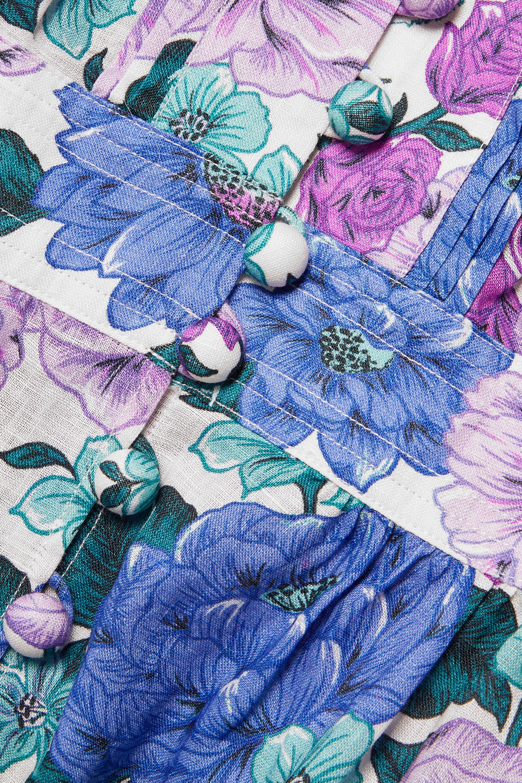 Zimmermann Poppy floral-print linen maxi dress