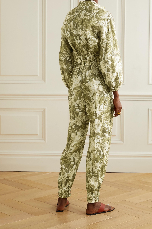 Zimmermann Brighton printed linen jumpsuit