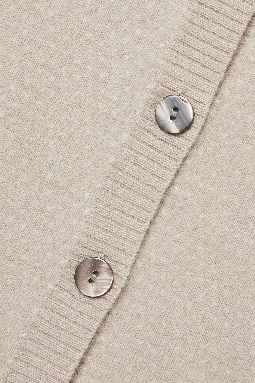 Madeleine Thompson Pfeiffer intarsia cashmere cardigan