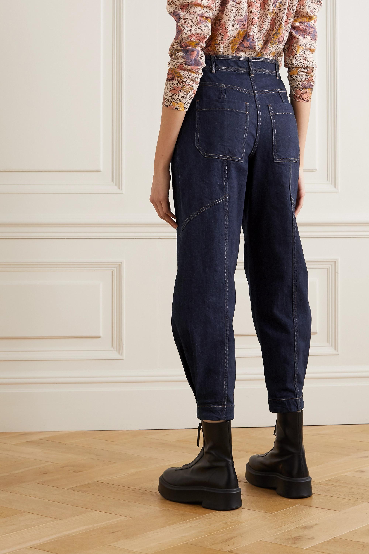 Ulla Johnson Keaton high-rise tapered jeans