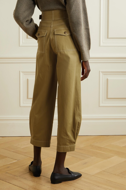 Ulla Johnson Dune cotton-twill tapered pants